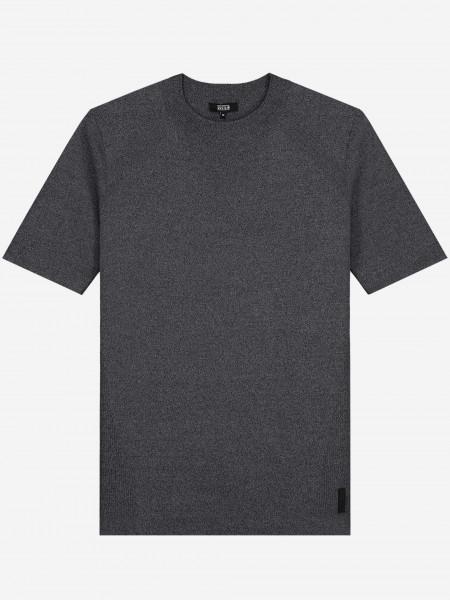 Crewneck knit t-shirt