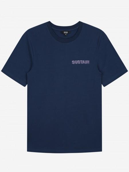 Blauw t-shirt met logo