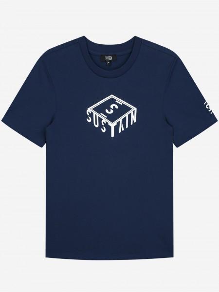 T-Shirt Met 3D Box Logo