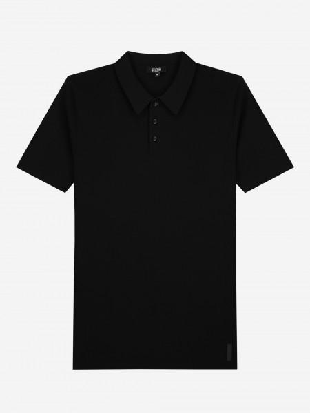Plain knit Polo