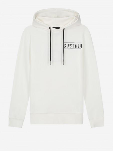 Off white hoodie met logo