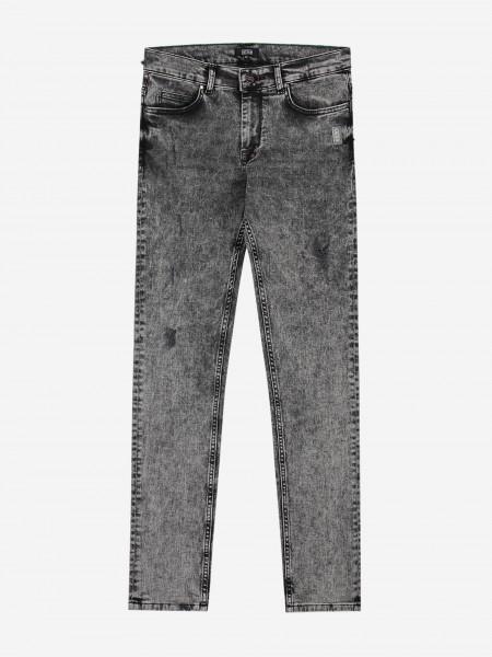 Jeans Met Grijze Wassing