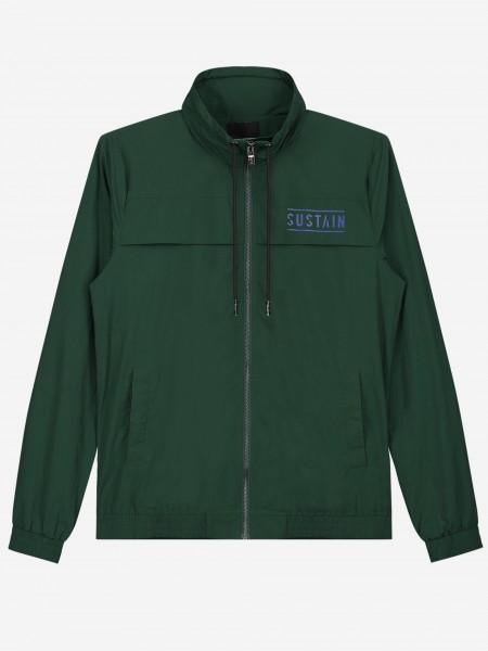 Track Jacket met opstaande kraag en logo