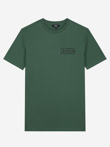 t-shirt met 3d sustain-logo