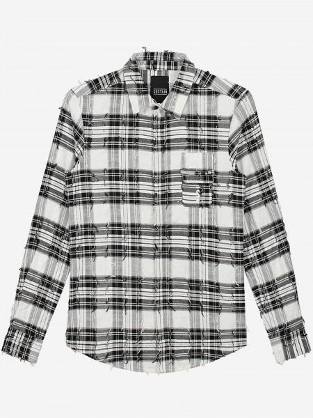 Geruit shirt met lange mouwen