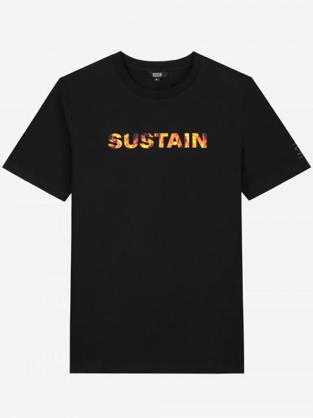 T-SHIRT MET SUSTAIN-LOGO