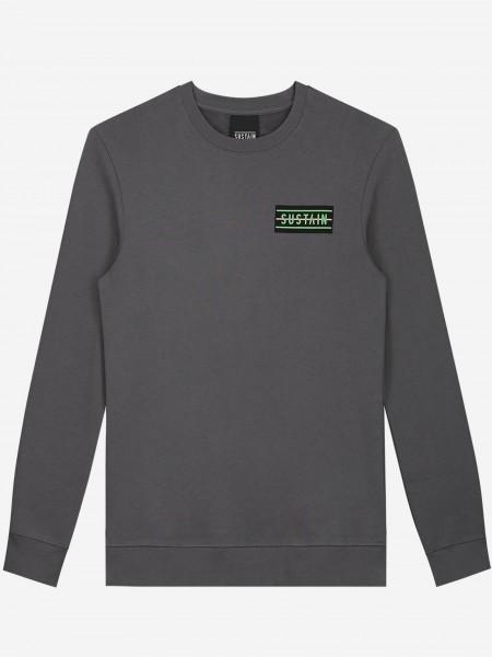 Loose fit sweater met artwork
